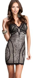 bebe Lace Sexy Going Party Dress