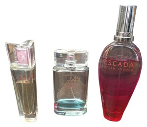 Escada Escada Sexy Graffiti, Into the Blue, Sentiment, ALL THREE BUNDLE