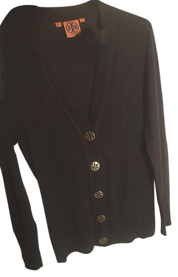Tory burch brown sweater button down shirt on tradesy for Tory burch button down shirt