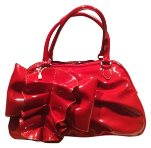 Valentino Patent Leather Shoulder Bag