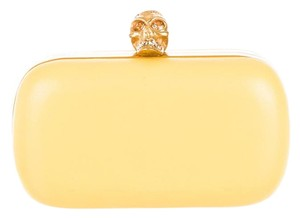 Alexander McQueen Yellow Clutch