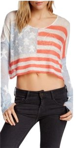 Wildfox July 4th Patriotic Sweater