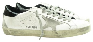 Golden Goose Deluxe Brand White Bluette Cream Sole Athletic