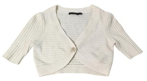 The Limited Shrug Bolero Wool Beige Cardigan