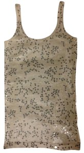 A|X Armani Exchange Sequin Pink Gray Ax Top
