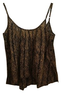 Volcom Top Black and Gold