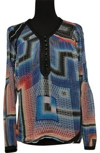 Twelfth St. by Cynthia Vincent Sheer Abstract Print Tunic