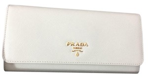 Prada Prada saffiano leather wallet.