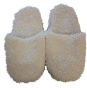 Other White Fluffy Slippers