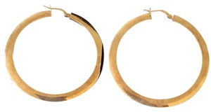Real Gold hoop earrings 14k gold earrings