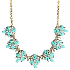 J.Crew NEW!!! Tags J. Crew Crystal Beaded Turquoise Necklace NWT