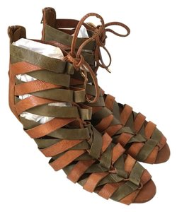 Jeffrey Campbell Strappy Leather Shopbop Jc Olive Sandals
