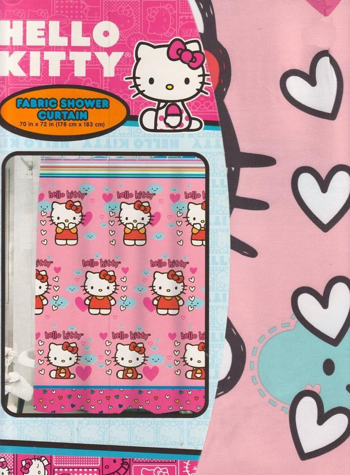Hello Kitty Shower Curtains