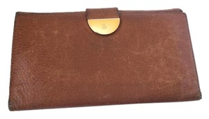 Bally Vintage Bally Leather Camel Brown Wallet