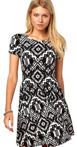 ASOS short dress Black & White & Skater on Tradesy