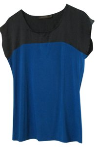 H&M Top Blue/Black