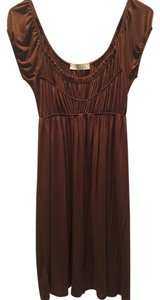 Lush short dress Brown on Tradesy
