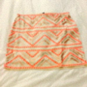 Express Mini Skirt Coral