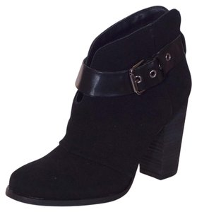 169aa68a9 Jessica Simpson Black Jp Keri Women's Suede Leather Ankle Boots ...