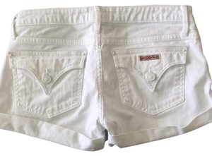 Hudson Jeans Cuffed Shorts White