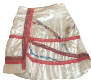 Save The Queen Skirt White