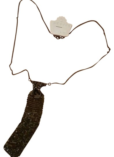 Other Black tie necklace