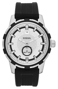 Fossil Fossil Male Casual Watch FS4889 Silver Analog