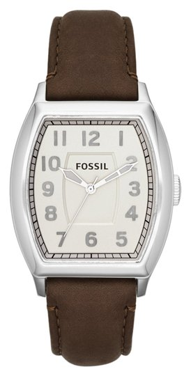 Fossil Fossil Male Narrator Watch FS4880 Silver Analog