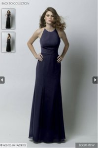 Wtoo Indigo Wtoo Indigo Floor-length Dress Dress