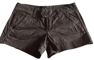 BKE Cut Off Shorts Brown
