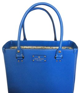 Kate Spade Satchel in Blue Like New
