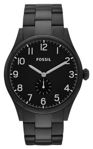 Fossil Fossil Male Dress Watch FS4854 Black Analog