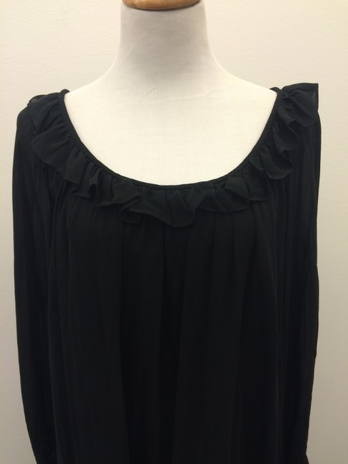 Yves Saint Laurent short dress black Ysl on Tradesy