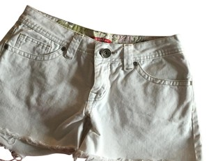 UNIONBAY Cut Off Shorts White