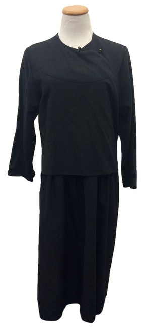 Black Maxi Dress by Comme des Garons