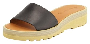See by Chloé Leather Slip-on Chloe Seebychloe Black Sandals