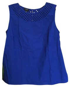 Talbots Top Cobalt Blue