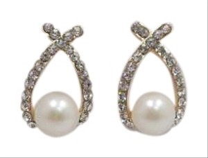 Other Faux Pearl and Rhinestone Fashion Earrings w Free Shipping