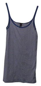 J.Crew Top Blue & White Stripe