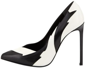 Saint Laurent Black/White Pumps