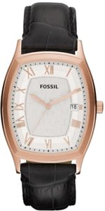 Fossil Fossil Male Dress Watch FS4739 Black Analog