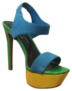 Jessica Simpson Platform Spike Stiletto Multi Platforms