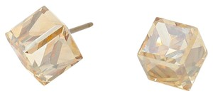 Other 12mm Genuine Austrian crystal cube stud earrings