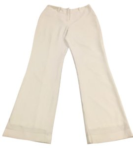 White House | Black Market Trouser Pants Cream
