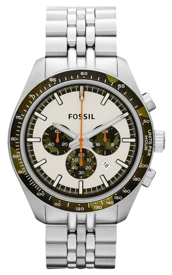 Fossil Fossil Male Sports Watch CH2913 Silver Analog