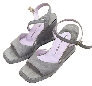 Chinese Laundry Gray Wedges