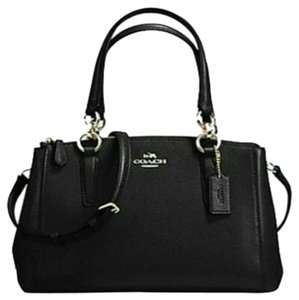 Coach Christie Crossbody Swingpack Satchel in Black