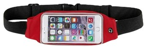 Universal Sports Universal Sports Waist Belt Phone Pack Red