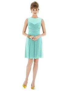 Alfred Sung Coastal Blue D676 Dress