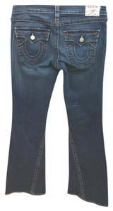 True Religion Jenas Boot Cut Jeans-Medium Wash